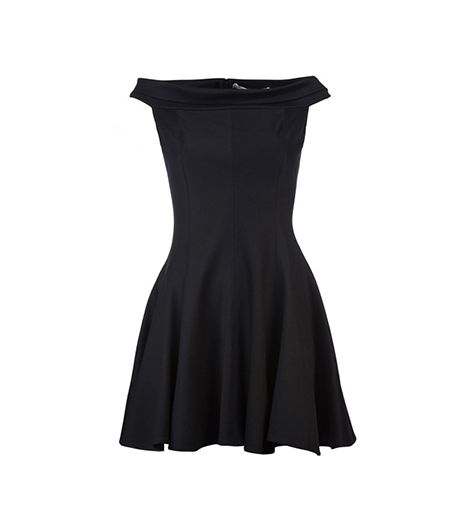 Halston Heritage Off-The-Shoulder Dress ($277)