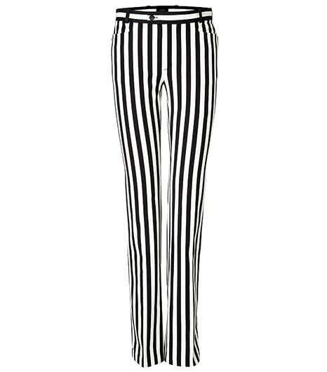 Joseph Rocket Striped Pants In Ecru ($345)