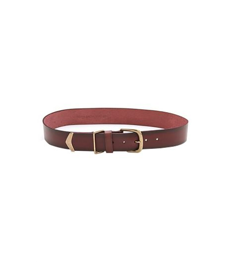 Linea Pelle Sullivan Hip Belt ($121)in Oxblood