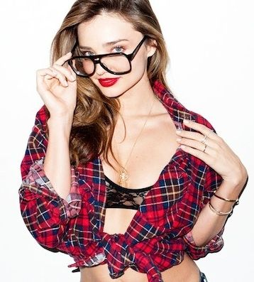 Miranda Kerr Poses For Terry Richardson