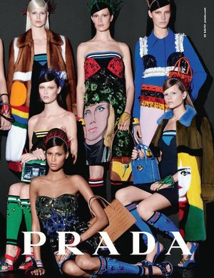 A First Glimpse At Prada's Colorful S/S 2014 Campaign