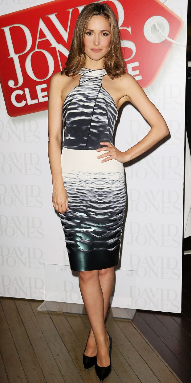 Rose Byrne Makes A Splash In Dion Lee