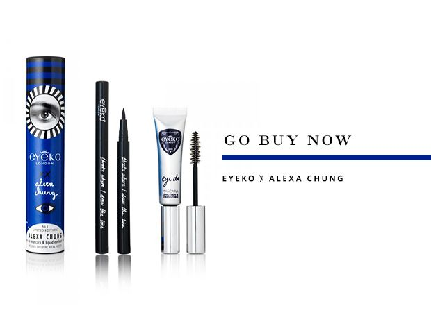 Alexa Chung's Liquid Liner is Finally Here--and It's Awesome