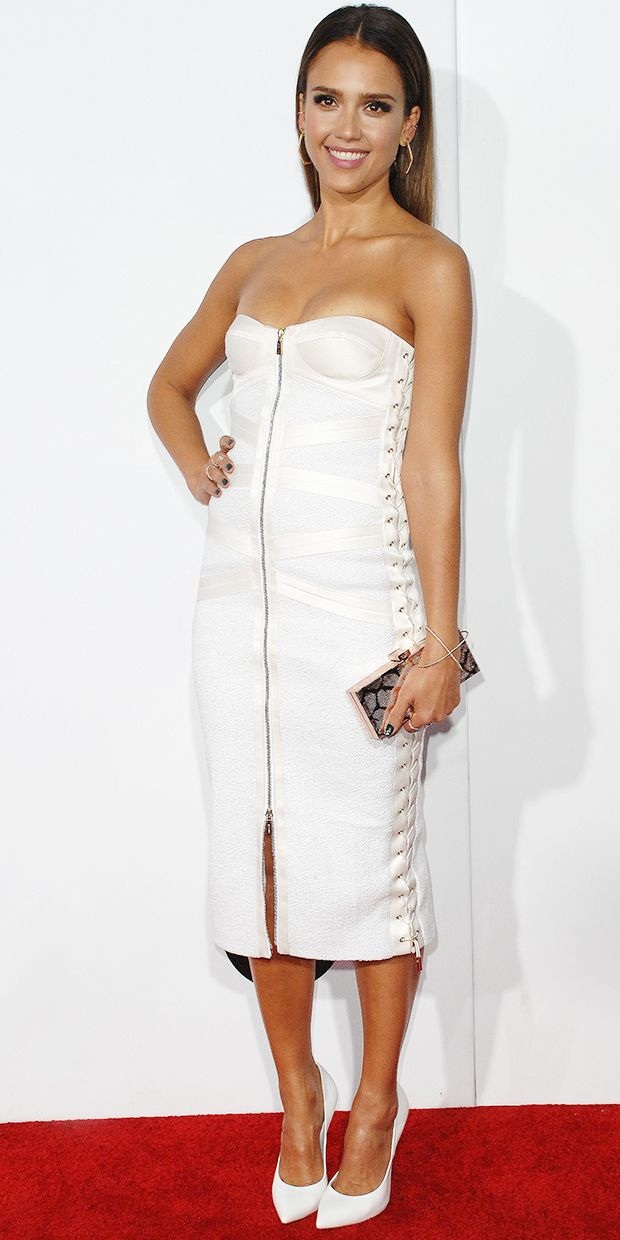 Jessica Alba's Smokin' Hot People's Choice Awards Look