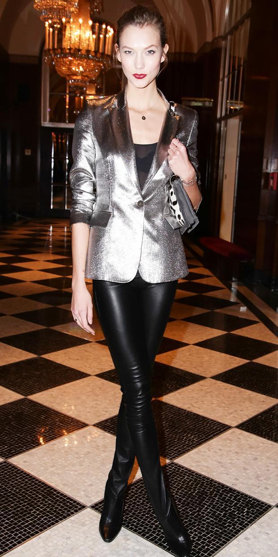Karlie Kloss Shines In The Next Big Designer
