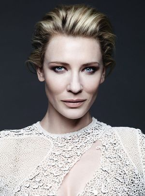 Cate Blanchett In An Ethereal Cover Shoot For Harper's Bazaar UK