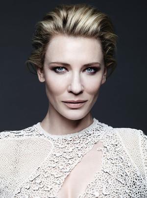 Cate Blanchett In An Ethereal Cover Shoot For Harper's Bazaar UK