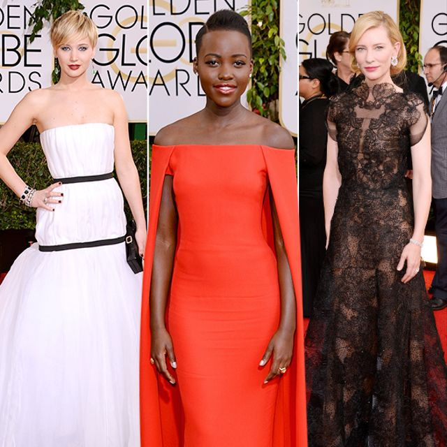 The Best Looks From The Golden Globes Red Carpet