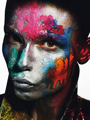 Natasha Poly Isn't Afraid of a Little Color