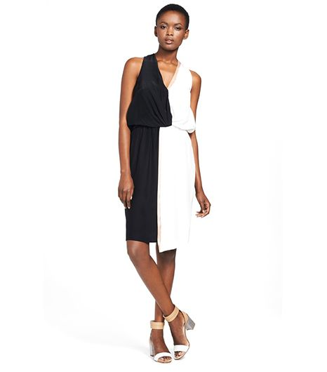 Elizabeth and James Avanel Silk Halter Dress ($395)