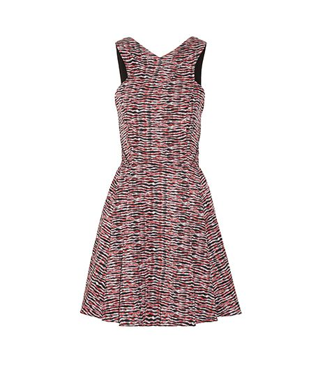Proenza Schouler Printed Silk-Georgette Dress ($1125)