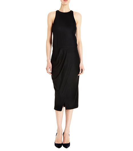 Helmut Lang Halter Midi Dress ($360)