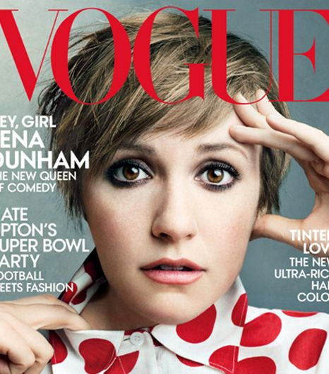 Lena Dunham's Vogue Cover