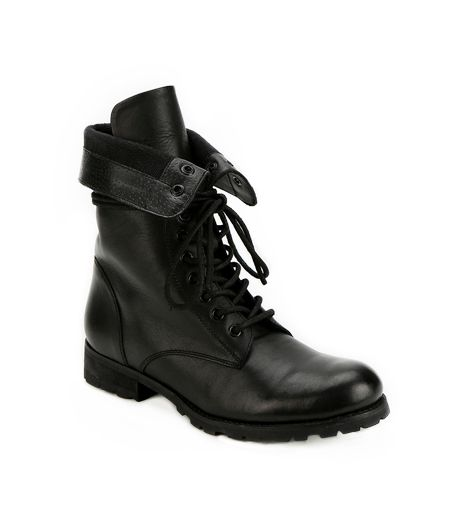 Deena & Ozzy Fold-Over Combat Boots ($50)