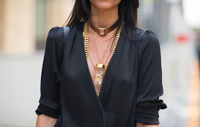 Choker + Pendant Necklace