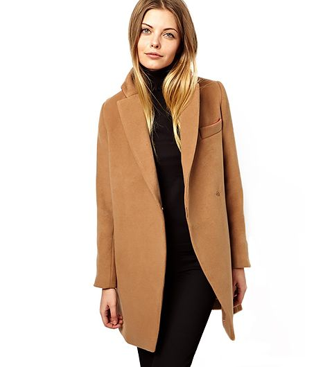 Exclusive Coat with Contrast Collar