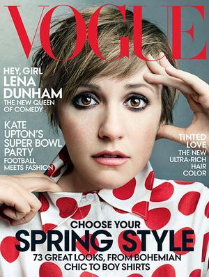 Lena Dunham Lands Vogue & Miley Cyrus Channels Donald Trump