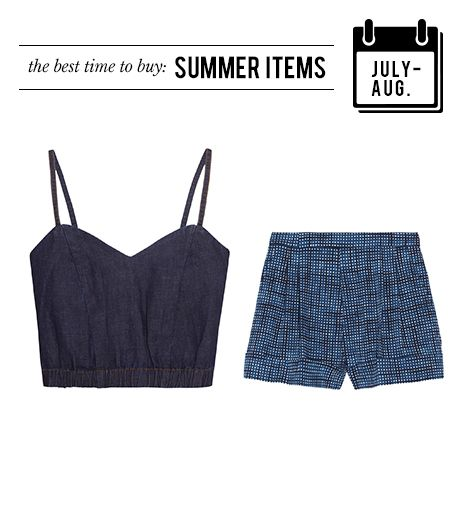 July/August: Summer Apparel