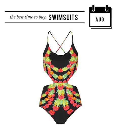 August: Swimsuits