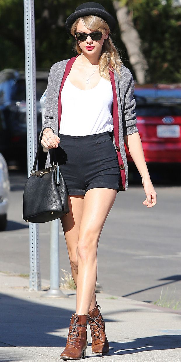 Taylor Swift's Stylish Tomboy Look