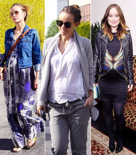 Outfit Envy! Check Out Olivia Wilde's Pregnant Style
