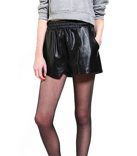 Resistance Vegan Leather Runner Short
