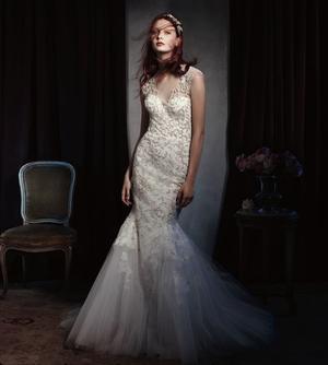 Monique Lhuillier S/S 2014 Bridal Campaign