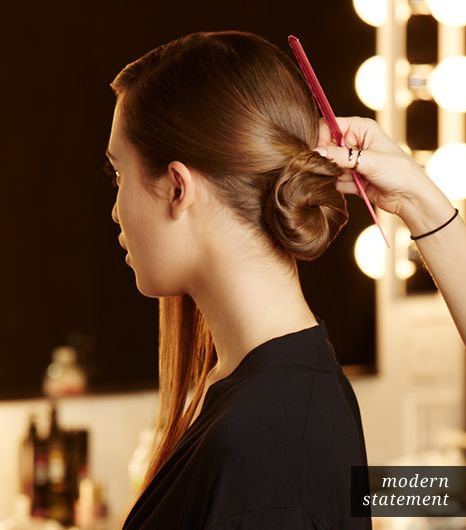 Hair: Smooth Sides Back