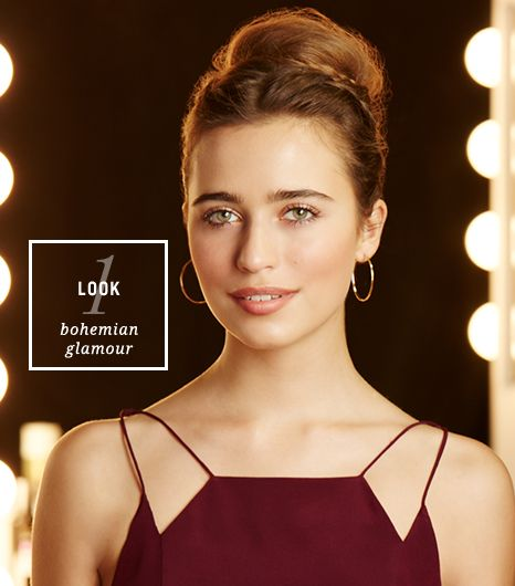 Look #1: Bohemian Glamour