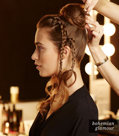 Hair: Twist It Into A Bun