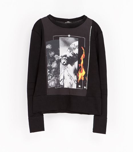 Zara Mercerized Sweatshirt ($20)
