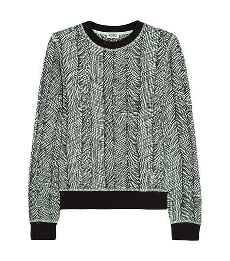 Kenzo Printed Cotton-Jersey Sweatshirt ($245)