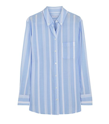 Equipment Margaux Striped Cotton Shirt ($190)