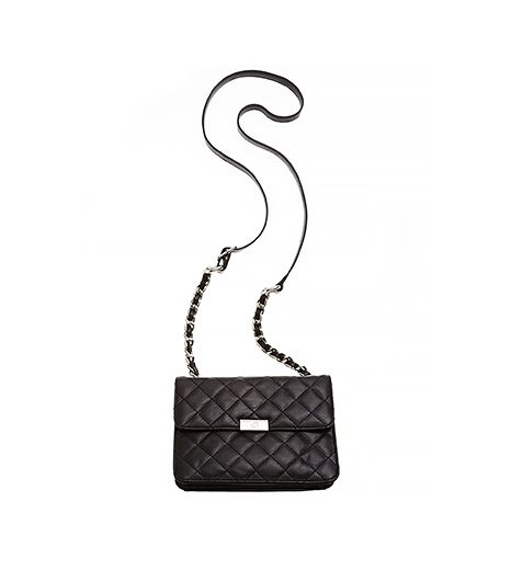 Giani Bernini Nappa Leather Flap Crossbody Handbag ($82)