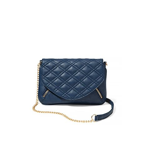 New York & Company Quilted Crossbody Bag ($40)