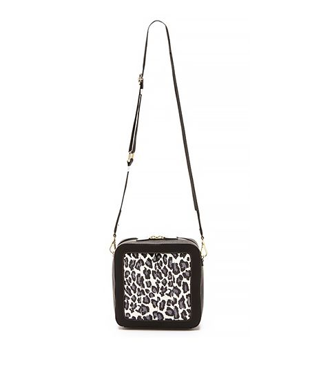 Square Snakeskin Bag