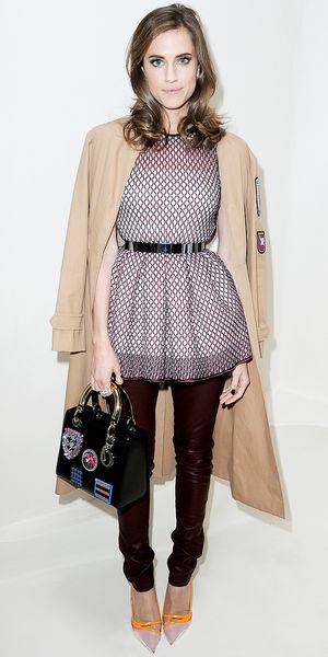 Allison Williams Adores Dior