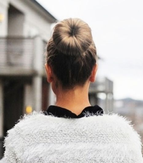 2. Sock Buns 