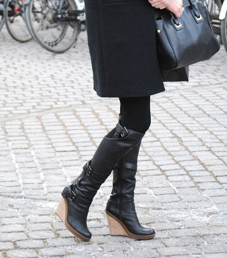 10. Wedge Boots 