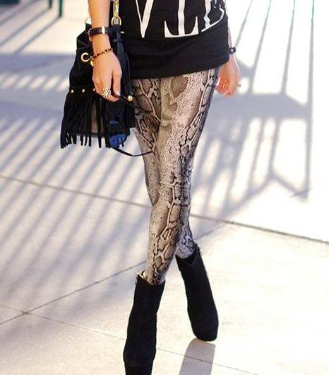 12. Graphic Leggings 