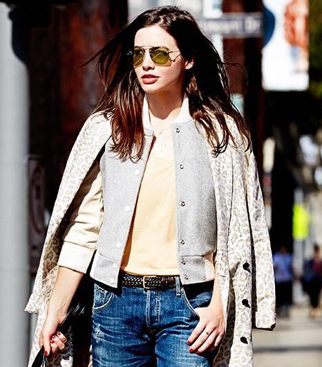 How To Wear A Leopard Print Jacket Like A Fashion Editor