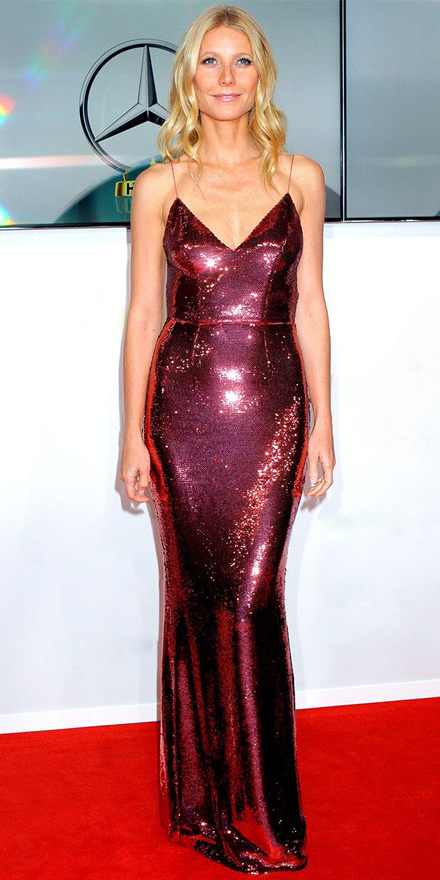 Gwyneth Paltrow's Stunning Sequin Number