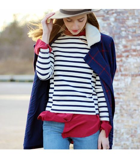 Jessannkirby is wearing: J.Crew shirt, Old Navy coat.