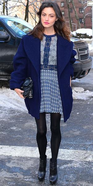Phoebe Tonkin Heats Up New York Fashion Week