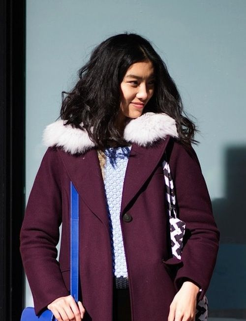Cozy Collars, 5 Ways: Check Out The Street Style Shots From NYFW