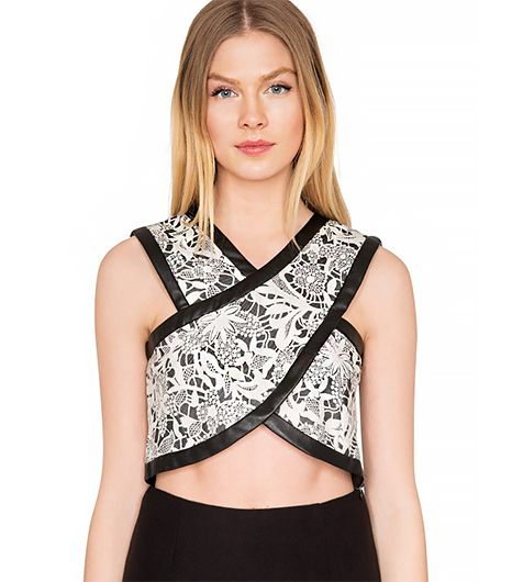 It's lace, it's cropped, and it's under $40. What's not to love?