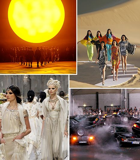 The Most Extravagant Runway Shows Of All Time