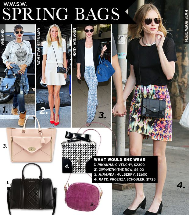 Spring 13 Bags
