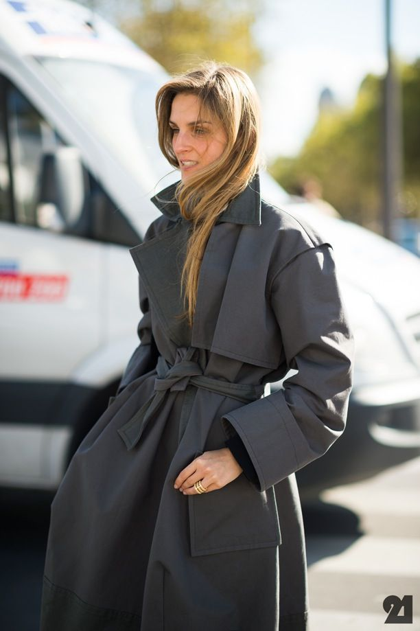 Street Style: Belted Coats