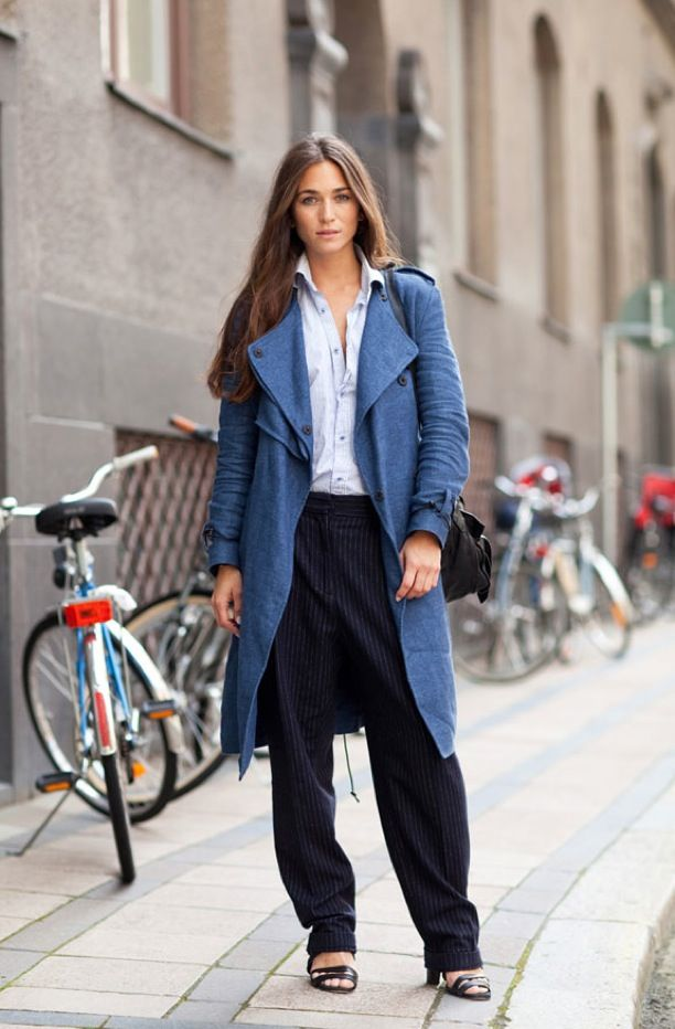Street Style: Chambray Jackets